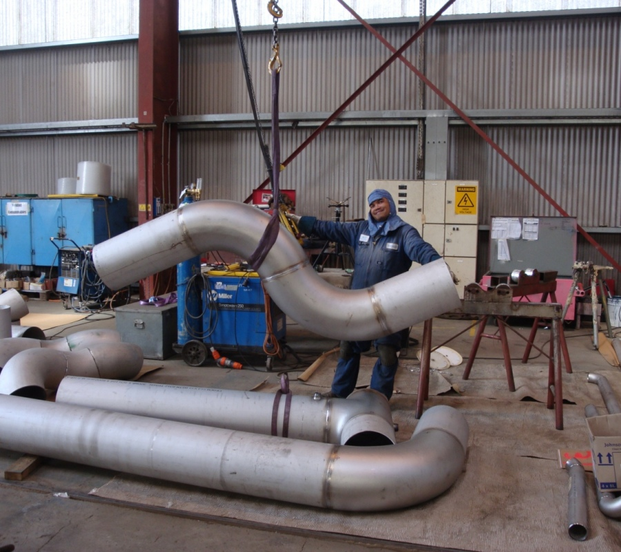 Pipe Spooling - Stainless