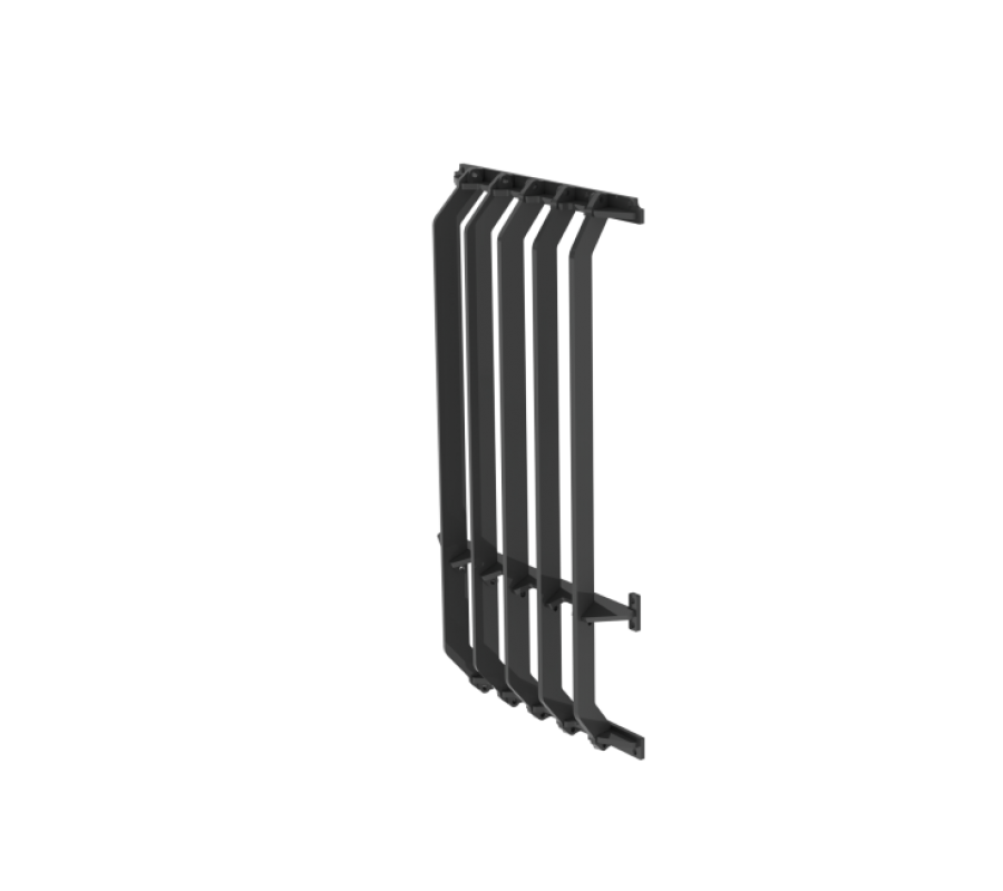 Side Entry Front Window Grill