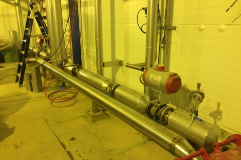 Lichfield Steam and Condensate piping system