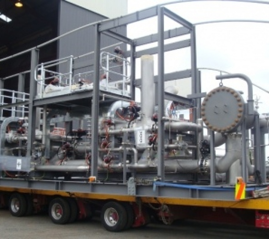 Worsley Multi-Fuel Cogen Project-Condensate Treatment Plant